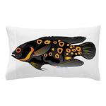 Oscar Ciclid Amazon River Pillow Case