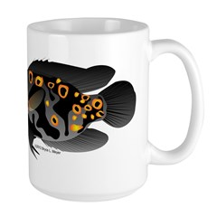 Oscar Ciclid Amazon River Large Mug