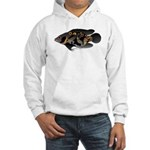 Oscar Ciclid Amazon River Hooded Sweatshirt