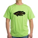 Oscar Ciclid Amazon River Green T-Shirt