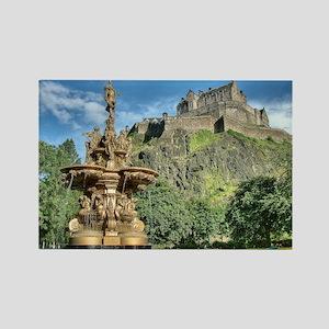 Edinburgh Castle 98 , Scotland Rectangle Magnet