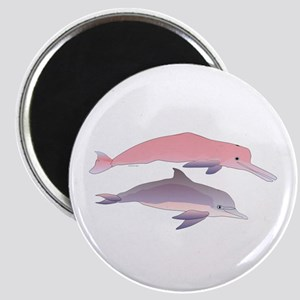 Boto and Tucuxi Amazon River Dolphins Magnet