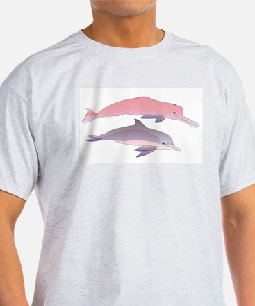 Boto and Tucuxi Amazon River Dolphins T-Shirt