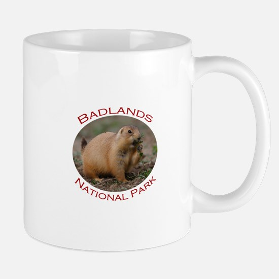Badlands National Park...Prairie Dog Snacking Mug