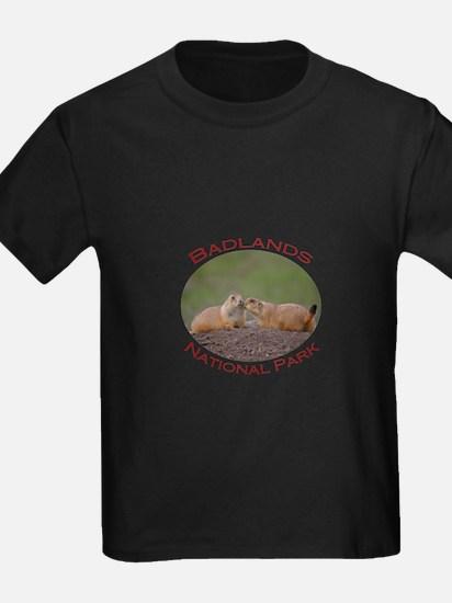 Badlands National Park...Prairie Dog Kiss T