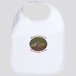Badlands National Park...Prairie Dog Kiss Bib