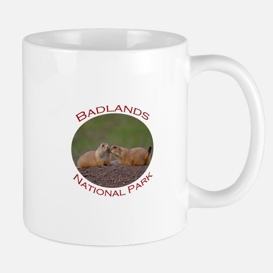 Badlands National Park...Prairie Dog Kiss Mug