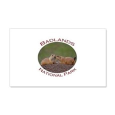 Badlands National Park...Prairie Dog Kiss Wall Decal