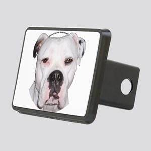 American Bulldog copy Rectangular Hitch Cover