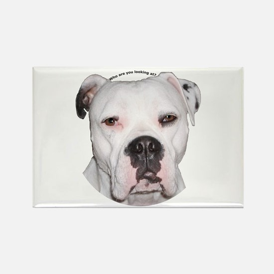 American Bulldog copy.png Rectangle Magnet