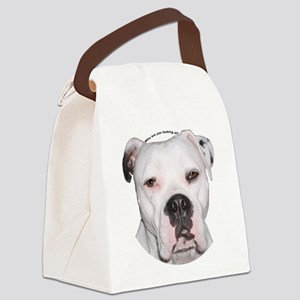 American Bulldog copy Canvas Lunch Bag