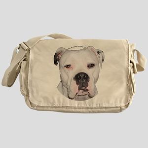 American Bulldog copy Messenger Bag