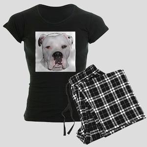 American Bulldog copy Women's Dark Pajamas