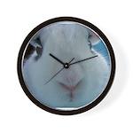 Hotot Dwarf Bunny Rabbit cute nose Wall Clock