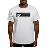 MHRR logo 2-sided gray T-shirt