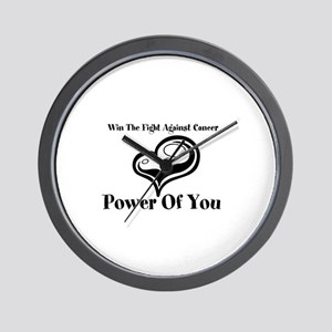 Power Of You Wall Clock