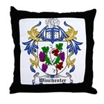 Winchester Coat of Arms Throw Pillow