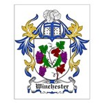 Winchester Coat of Arms Small Poster