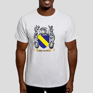 Brunetti Family Crest - Brunetti Coat of A T-Shirt