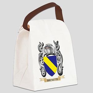 Brunetti Family Crest - Brunetti Canvas Lunch Bag