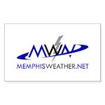 MWN_logo Sticker (Rectangle 10 pk)