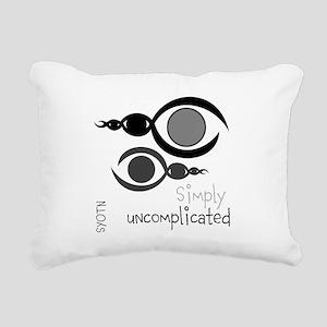 SYOTN design #53 Rectangular Canvas Pillow