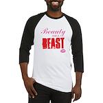 Beauty and a beast Baseball Jersey