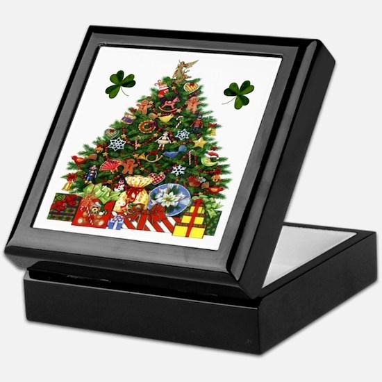 Irish Christmas Tree Keepsake Box