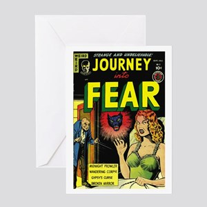 Journey Into Fear #3 Greeting Card