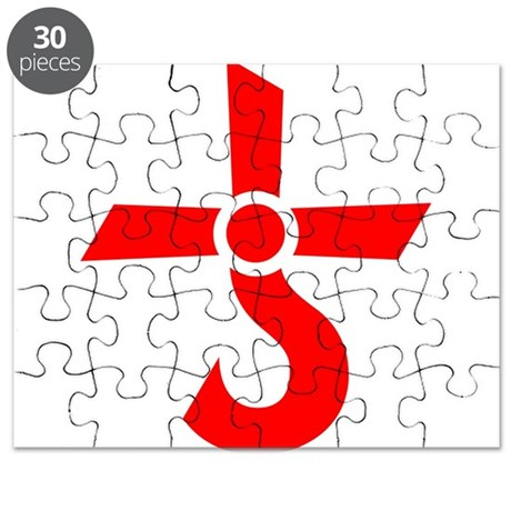 Cross Of Kronos Mars Cross Red Puzzle By Kungfu