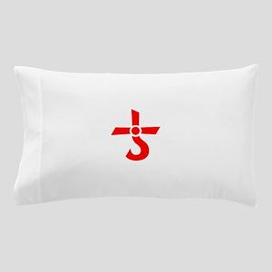 CROSS OF KRONOS (MARS CROSS) Red Pillow Case