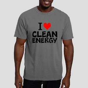 I Love Clean Energy Mens Comfort Colors Shirt