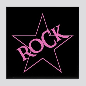 ROCK STAR Tile Coaster