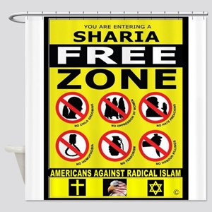 SHARIA FREE Shower Curtain