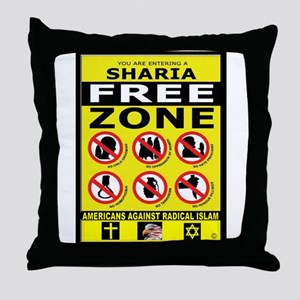 SHARIA FREE Throw Pillow