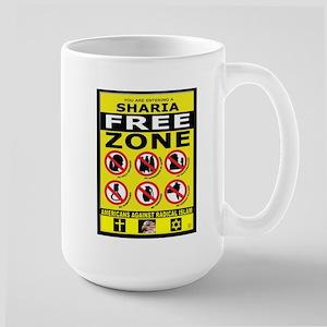 SHARIA FREE Large Mug