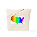 Rainbow States Tote Bag