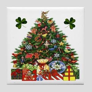 Irish Christmas Tree Tile
