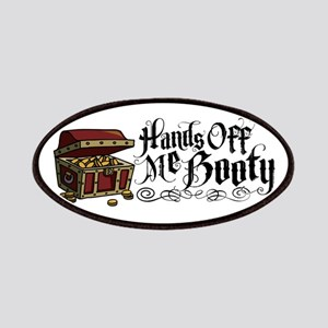 Hands Off Me Booty Patches