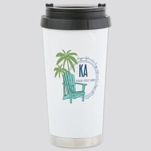 Kappa Alpha Order 16 oz Stainless Steel Travel Mug
