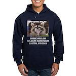 Raccoons Rule! Hoodie (dark)