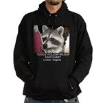 Raccoon Custom Hoodie (dark)