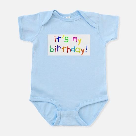 it's my birthday! Infant Creeper