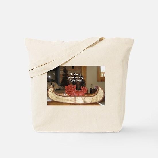 Canoe Foo Tote Bag