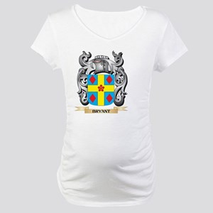 Bryant Family Crest - Bryant Coa Maternity T-Shirt