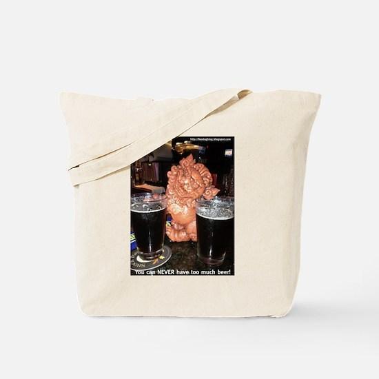 Double-Fistin Foo Tote Bag