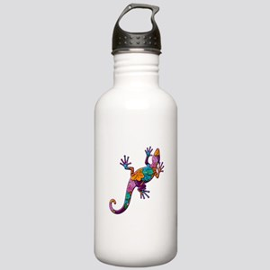 Hibiscus Lizard Stainless Water Bottle 1.0L