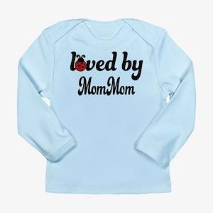 Loved By MomMom Ladybug Long Sleeve Infant T-Shirt