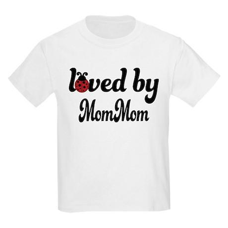 Loved By MomMom Ladybug Kids Light T-Shirt