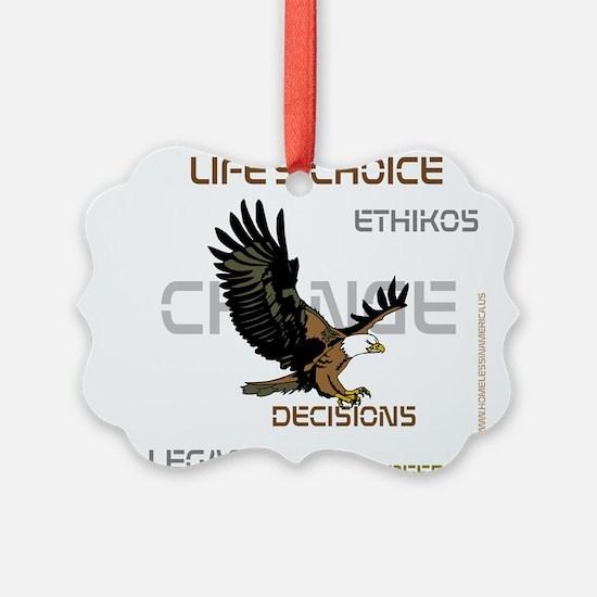 HIA Eagle design Ornament